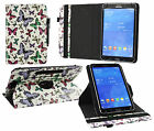 Universal 360° Rotating Wallet Case Cover fits 9 inch to 10 inch Tablet & Stylus