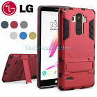 Hybird Armor Hard Slim Kickstand Protective Case Cover For LG G Stylo LS770