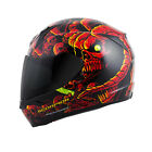 Scorpion EXO-R410 Dr. Sin Full Face Helmet  Red/Yellow