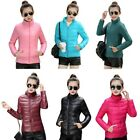 Winter Thick Warm Cotton Women Coat Quilted Jacket Slim Solid Outwear S-XXXL F24