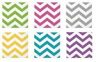 CHEVRON Range of LUNCHEON NAPKINS - Pack of 16 {Unique} (Tableware/Birthday)