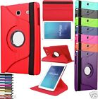 "360 Rotating Leather Smart Case Cover For Samsung Galaxy Tab E 9.6"" Inch SM-T560"