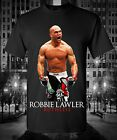 Robbie Ruthless Lawler Graphic T-Shirt UFC MMA Kickboxing Fighter Champion Welt