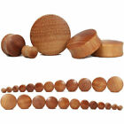 1Pair 8-30mm Wood Double Flared Saddle Ear Plugs Gauges Flesh Tunnel Piercing