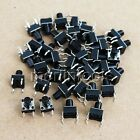 50 Pcs 6 x 6 x 4.3 ~ 17mm Tactile Push Button Momentary Switch 4 pin Select size