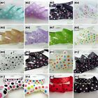 "2Yard 10 Yard Mixed Dot Grosgrain Ribbon 16mm22mm25mm38mm 5/8""7/8""1""1.5"""