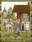 "IVAN BILIBIN ""Father's Off to the Fair"" folk tale family feather of finist NEW"