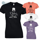Personalised Hen Night T-Shirts Party Weekend Girls Holiday & Tours