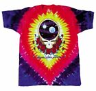 * Grateful Dead Tie Dye T Shirt Space Your Face LICENSED Steal Your Face M-2XL