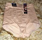 NEW Womens FLEXEES MAIDENFORM Nude Firm Control Brief Shapewear Panty S M XL 2XL