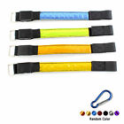 2x Sporting Flash LED Belt Strap Wrap Arm Band Armband +Carabiner