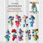 1/2 PRICE - DY CHOICE JESTER DK KNITTING YARN WITH POM POMS - FREE SCARF PATTERN