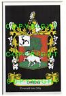 OWENS Family Coat of Arms Crest - Choice of Mount or Framed