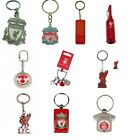 OFFICIEL LIVERPOOL FOOTBALL CLUB PORTE-CLEFS (Crest, Spinner,Métal clé Bague)