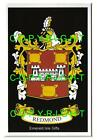 REDMOND Family Coat of Arms Crest - Choice of Mount or Framed