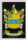 THOMPSON Family Coat of Arms Crest - Choice of Mount or Framed