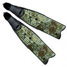 Omer Flossen Stingray Camo 3D Green 05CH