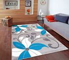 RUGS AREA RUGS CARPET 8X10 AREA RUG FLOOR LIVING ROOM MODERN LARGE FLORAL RUGS ~