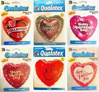 "VALENTINES DAY Foil BALLOONS 18""/46cm - Room Decorations/Hearts/Gift (RS-Qual)"
