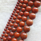 Wholesale 4/6/8/10/12mm Red Jasper round loose beads 15.5inch YSZ16