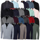 Calvin Klein Golf Mens 2019 Chunky Cotton 1/2 Zip Golf Top Sweater 28% OFF RRP