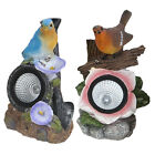 Garden Patio Walkway Path Bird Spotlight Outdoor Ornament Solar Powered Light
