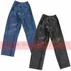 Kids Breathable Waterproof Elasticated Rain Over Trousers Play Bottoms Wet Pants