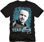 Breaking Bad Jesse Pinkman Yeah Bitch Men's Black T-Shirt