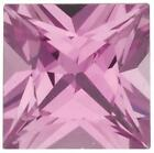 Natural Fine Rich Pink Sapphire - Square Princess - Sri Lanka - Top Grade