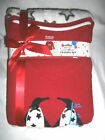 Woman Knit Top & Plush Pants Pajamas Set - You Choose - Penguins Stars Christmas