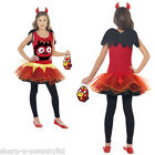 Ragazze Moshi Monsters Diavlo Diavolo Halloween Costume Travestimento & Borsa