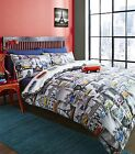 Officially Licensed VW Volkswagen City Reversible Split Camper Duvet Cover Set
