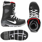 NIKE ZOOM KAIJU MENS 6.5 SNOWBOARD BOOTS BLACK CEMENT FIRE RED 376276-001