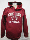New Mexico State Aggies Men's S, L Climawarm Football Hoodie NCAA adidas A11MLF