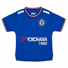 Chelsea Football Club Official Soccer Gift Baby Boys T-Shirt Blue White