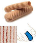 SILIPOS Ribbed Knit Gel Digital Toe Caps Covers Sleeves -6- Original ALL SIZES
