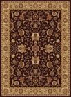 Brown Gold Traditional Persian Bordered Area Rug Oriental All-Over Carpet