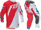 NEW 2016 FLY RACING EVOLUTION 2.0 SWITCHBACK LE GEAR COMBO WHITE/RED ALL SIZES
