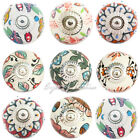 LARGE SELECTION - WHITE CERAMIC CABINET DRESSER DOOR CUPBOARD KNOBS PULLS HANDLE