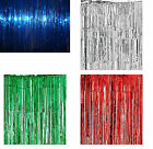 Table Shimmer Curtain 8FT Wide x 3FT Depth. Scene Setting, Decoration, Party