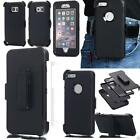 Defender Military Shockproof Heavy Duty Rugged Case For Samsung IPhone+Belt clip