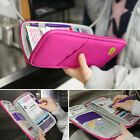 New Unisex Applied ID Passport Credit Card Organizer Wallet Purse Bag for Travel