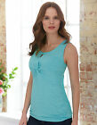 Bravissimo Keyhole  Jersey Top in Turquoise by Pepperberry (91)