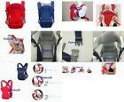 3 Ways Infant BABY CARRIER Newborn Sling ADJUSTABLE BACKPACK Wrap Rider Toddler✔