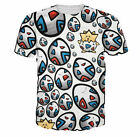 New Fashion Women/Mens Pokemon Togepi 3D Print Casual Graphic T-Shirt G3