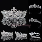 Crystal Rhinestone Crown Tiara Wedding Pageant Bridal Hair Accessory Headpiece
