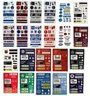 OFFICIAL FOOTBALL CLUB AUTOCOLLANT FEUILLE Enfants/Autocollants/Récompense/Ecole
