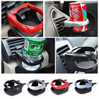 Universal Drinks Holder Air Vent Outlet Mount Cups Bottle Beverage Stand Bracket