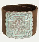 Unique Western Chic Leather Cuff Bracelets! 4 Styles!