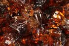Glasbrocken bernstein amber Glass Rocks 50/120 mm 5 kg bis 100 kg